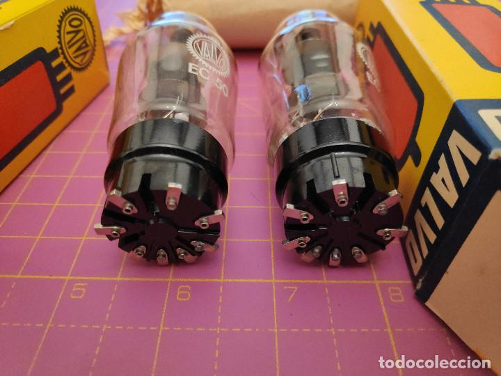 Radios antiguas: Dos válvulas EC50 - Valvo - Nuevas - Testadas - Mismo código - Foto 3 - 208242500