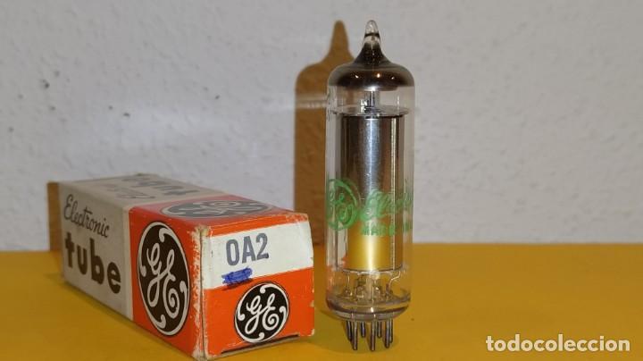 1 X 0A2-GENERAL ELECTRIC-NUEVA-NOS/NIB-TUBE. (Radios, Gramófonos, Grabadoras y Otros - Repuestos y Lámparas a Válvulas)