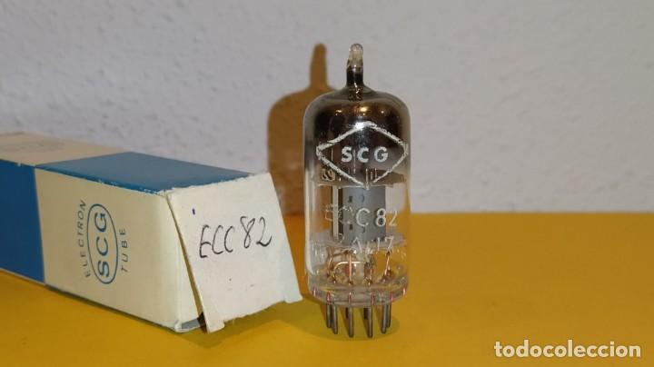 1 X ECC82-12AU7-SCG-NUEVA-NOS/NIB-TUBE. (Radios, Gramófonos, Grabadoras y Otros - Repuestos y Lámparas a Válvulas)