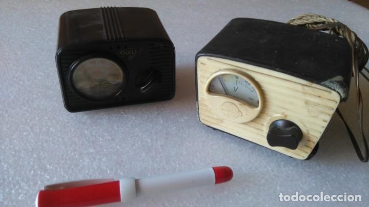 TRANSFORMADOR REDUCTORES VOLTIMETRO DEFECTUOSOS RADIO ANTIGUA (Radios, Gramófonos, Grabadoras y Otros - Repuestos y Lámparas a Válvulas)