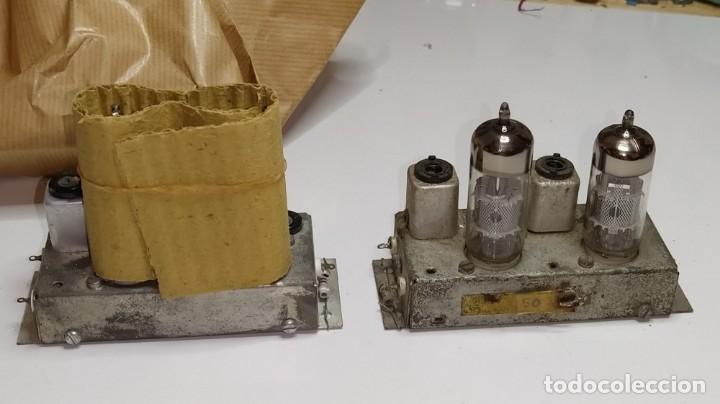 Radios antiguas: DOS MODULOS MICAFIX DE FI CON SUS VALVULAS. - Foto 2 - 211475666