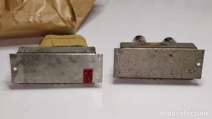 Radios antiguas: DOS MODULOS MICAFIX DE FI CON SUS VALVULAS. - Foto 4 - 211475666