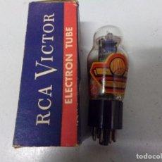 Radios antiguas: VALVULA RADIO RCA 6K6 NUEVA NO SE A PROBADO. Lote 212090890