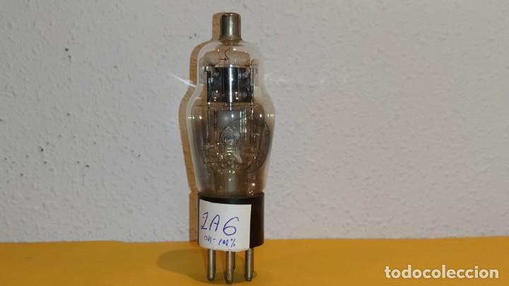 VALVULA 2A6-TUNGSRAM-USADA Y PROBADA. (Radios, Gramófonos, Grabadoras y Otros - Repuestos y Lámparas a Válvulas)