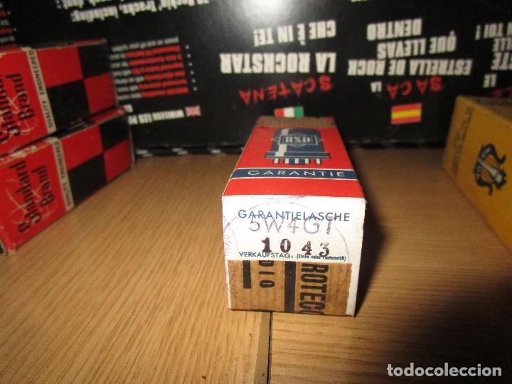 VALVULA 5W4 GT NUEVA (Radios, Gramófonos, Grabadoras y Otros - Repuestos y Lámparas a Válvulas)