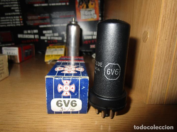 VALVULA 6V6 NUEVA (Radios, Gramófonos, Grabadoras y Otros - Repuestos y Lámparas a Válvulas)
