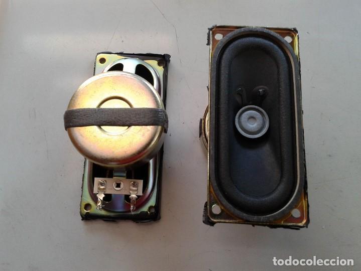 DOS ALTAVOCES ELIPTICOS BLINDADOS (Radios, Gramófonos, Grabadoras y Otros - Repuestos y Lámparas a Válvulas)
