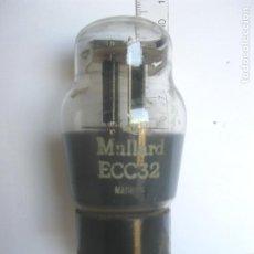 Radio antiche: VÁLVULA MULLARD ECC32 USADA. Lote 213546558
