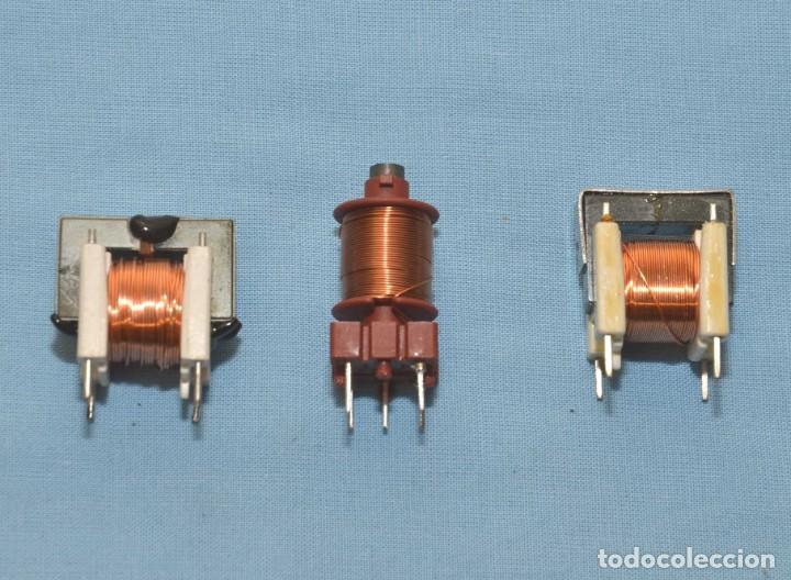 3 BOBINAS NUEVAS (Radios, Gramófonos, Grabadoras y Otros - Repuestos y Lámparas a Válvulas)