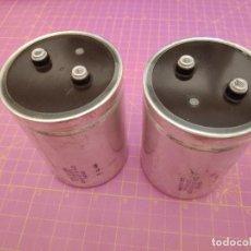Radios antiguas: 2 UNIDADES CONDENSADOR ELECTROLÍTICO 22000 MICROFARADIOS 25V - SPRAGUE - NOS. Lote 217397493