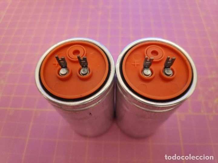 Radios antiguas: 2 Unidades condensador electrolítico 1000 microfaradios 100V - Siemens - NOS - Foto 2 - 217500181