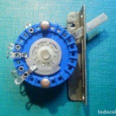 Radios antiguas: CONMUTADOR DESLIZANTE DE PALANCA 4 POSICIONES - 3100-0662 HP - NUEVO -. Lote 217702887