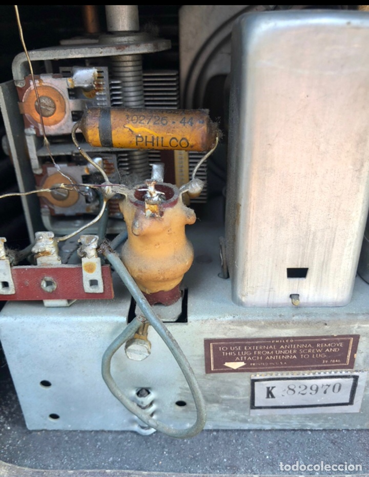 Radios antiguas: Radio antigua philco 48-460. Más poniendo USMO . - Foto 6 - 218311813
