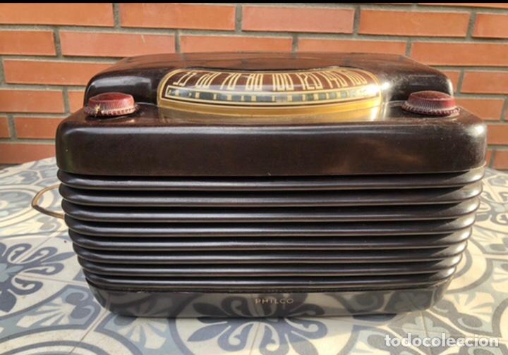 RADIO ANTIGUA PHILCO 48-460. MÁS PONIENDO USMO . (Radios, Gramófonos, Grabadoras y Otros - Repuestos y Lámparas a Válvulas)