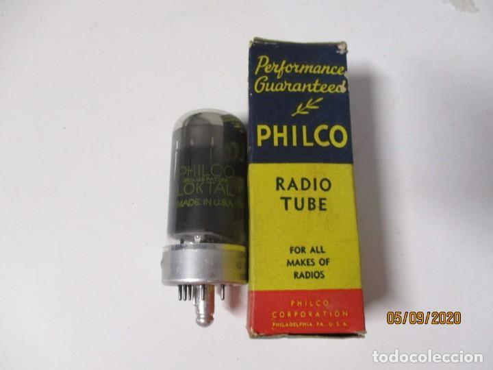 VALVULA 7C5 PHILCO USADA SIN PROBAR (Radios, Gramófonos, Grabadoras y Otros - Repuestos y Lámparas a Válvulas)