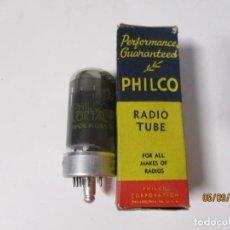 Radios antiguas: VALVULA 7C5 PHILCO USADA SIN PROBAR. Lote 218537852