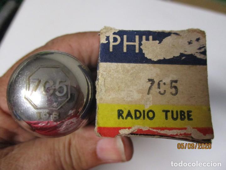 Radios antiguas: VALVULA 7C5 PHILCO USADA SIN PROBAR - Foto 2 - 218537852