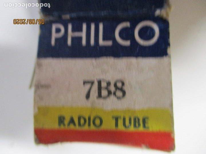 Radios antiguas: VALVULA 7B8 PHILCO USADA SIN PROBAR - Foto 2 - 218537967