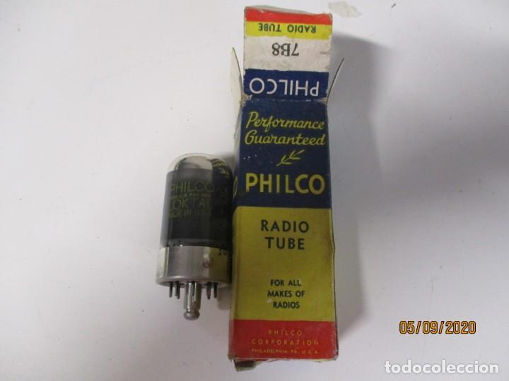 VALVULA 7B8 PHILCO USADA SIN PROBAR (Radios, Gramófonos, Grabadoras y Otros - Repuestos y Lámparas a Válvulas)