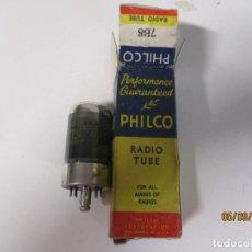 Radios antiguas: VALVULA 7B8 PHILCO USADA SIN PROBAR. Lote 218537967