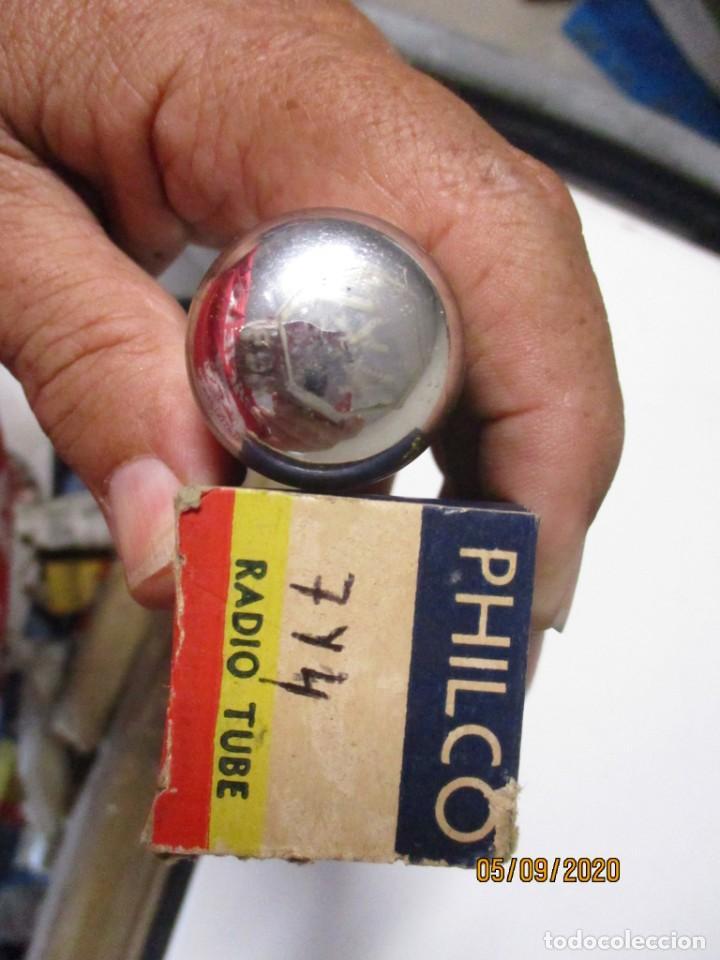 Radios antiguas: VALVULA 7Y4 PHILCO USADA SIN PROBAR - Foto 2 - 218538358