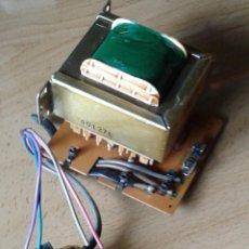 Radios antiguas: GRAN TRANSFORMADOR CON INTERRUPTOR. Lote 219589117