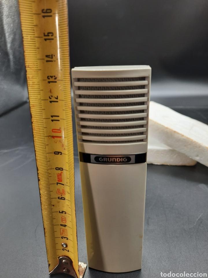 Radios antiguas: Antiguo micrófono Grundig - Foto 4 - 221166927