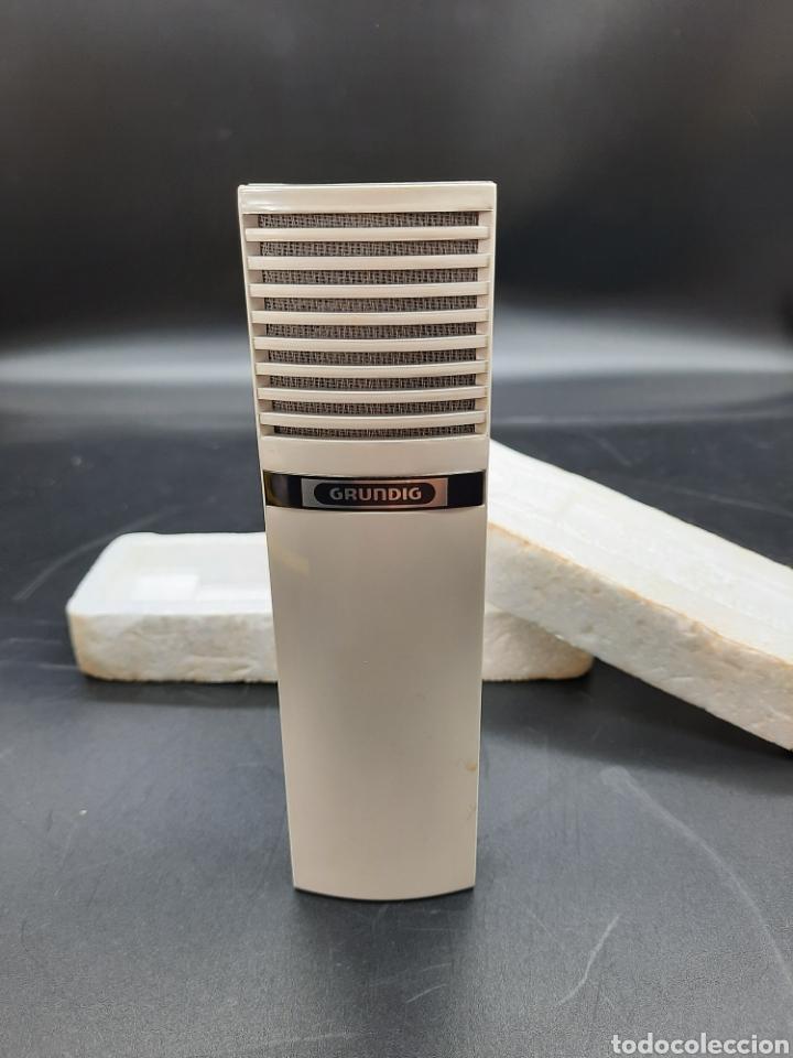 ANTIGUO MICRÓFONO GRUNDIG (Radios, Gramófonos, Grabadoras y Otros - Repuestos y Lámparas a Válvulas)
