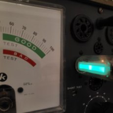 Radios antiguas: 1 UNIDAD VÁLVULA OJO MÁGICO 6E2 SIMILAR A EM84 EM87 - NUEVA. Lote 221275908