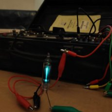 Radios antiguas: 1 UNIDAD VÁLVULA OJO MÁGICO DM70 - NUEVA. Lote 221276886