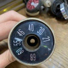 Radios antiguas: TAPÓN DESPIECE RADIO ANTIGUA - MEDIDAS 5,5 X 9 CM. Lote 221551912