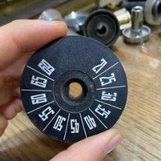 Radios antiguas: TAPÓN DESPIECE RADIO ANTIGUA - MEDIDAS 6 X 2 CM. Lote 221553396