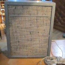 Radios antiguas: ANTIGUO ALTAVOZ MADERA CON REJILLA SIN PROBAR COLOR GRIS MEDIDA 20 ALTURA 16 ANCHO FONDO 10.5 CM.. Lote 221816276
