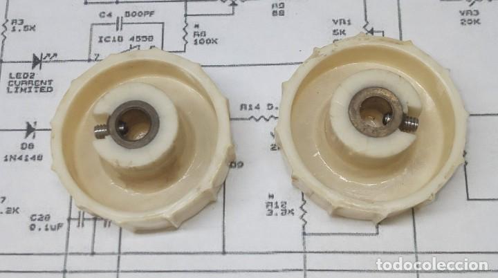 Radios antiguas: Botones de 36 mm para radio antigua a valvulas.....sanna - Foto 2 - 222140961