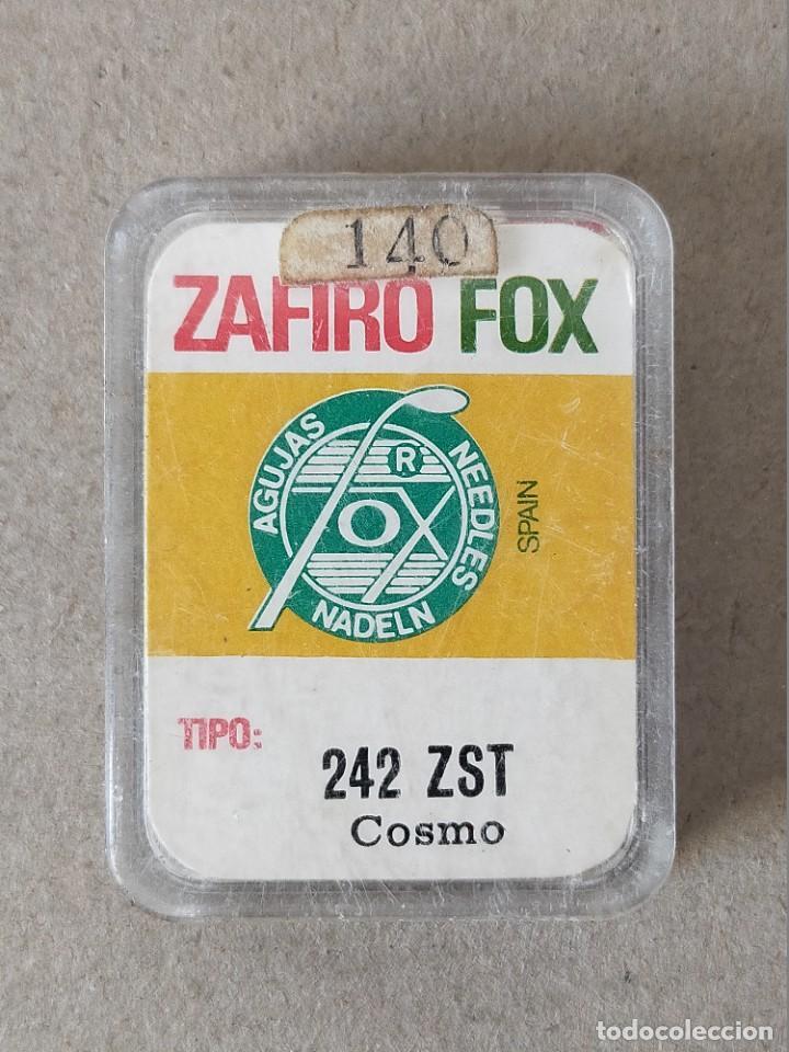 AGUJAS TOCADISCOS, MARCA ZAFIRO FOX TIPO 242 ZST (COSMO) - 2 UNIDADES (Radios, Gramófonos, Grabadoras y Otros - Repuestos y Lámparas a Válvulas)