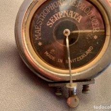 Radios antiguas: GRAMOLA CABEZA MAESTROPHONE REPRODUCER SERENATA SWITZERLAND. Lote 225566233