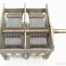 Radios antiguas: CONDENSADOR VARIABLE DE SINTONÍA PARA RECEPTOR SUPERETHERODINO. Lote 225727340