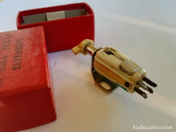 Radios antiguas: CAPSULA PICK UP REVERSIBLE KOLSTER 1500 RONETTE SA-075 MADE IN HOLLAND AGUJA PARA TOCADISCOS - Foto 3 - 226142900