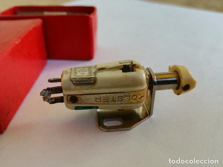 Radios antiguas: CAPSULA PICK UP REVERSIBLE KOLSTER 1500 RONETTE SA-075 MADE IN HOLLAND AGUJA PARA TOCADISCOS - Foto 7 - 226142900