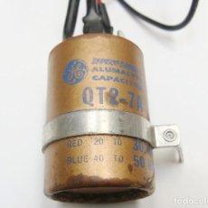 Radios antiguas: CONDENSADOR ELECTROLÍTICO DE FILTRO PARA RECEPTOR SUPERETHERODINO.A ESTRENAR. Lote 226396905