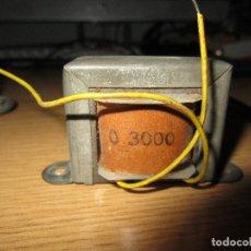 Radios antiguas: TRANSFORMADOR DE SALIDA 3000 OHMIOS. Lote 228567492