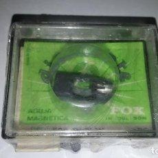 Radios antiguas: AGUJA MAGNÉTICA TOCADISCOS TIPO 592 DST-W ADC. MARCA FOX DIAMANTE. NUEVA.. Lote 231145850