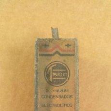 Radios Anciennes: ELECTRONICA, ANTIGUO CONDENSADOR, PARA RECUERDO O COLECCION. Lote 232084345