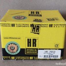 Radios antiguas: TRANSFORMADOR DE LINEA HR 7653 - FLYBACK TRANSFORMERS HR7653 - HR DIEMEN. Lote 233297650