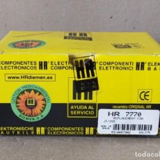 Radios antiguas: TRANSFORMADOR DE LINEA HR 7770 - FLYBACK TRANSFORMERS HR7770 - HR DIEMEN. Lote 233363305