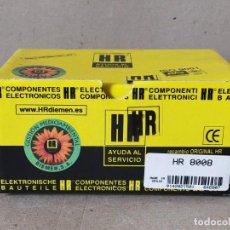 Radios antiguas: TRANSFORMADOR DE LINEA HR 8008 - FLYBACK TRANSFORMERS HR8008 - HR DIEMEN. Lote 233375915