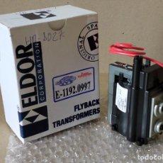 Radios antiguas: TRANSFORMADOR DE LINEA ELDOR 1192.0997 = HR8027 - FLYBACK TRANSFORMERS 1192.0997 = HR8027. Lote 233377905
