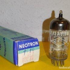 Radios antiguas: VALVULA ECC81-12AT7-NEOTRON-NUEVA-NOS/NIB-TUBE.. Lote 235051665