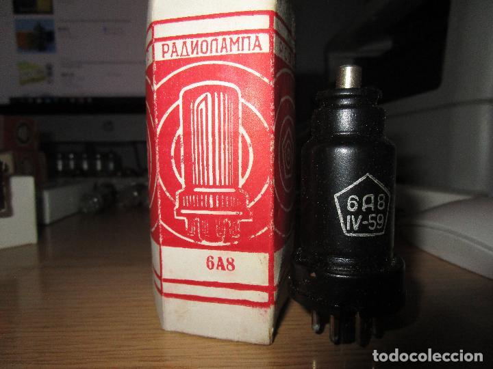 VALVULA 6A8 NUEVA (Radios, Gramófonos, Grabadoras y Otros - Repuestos y Lámparas a Válvulas)