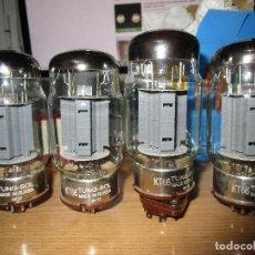 Radios antiguas: CUARTETO DE VALVULAS KT88 TUNG SOL NUEVAS. Lote 235836105